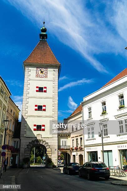 Die alte und schöne Stadt Wels in Oberösterreich Österreich