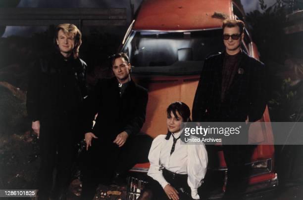 Die amerikanische New Wave Band COK ROBIN / Musik, Band, New Wave, 80er.