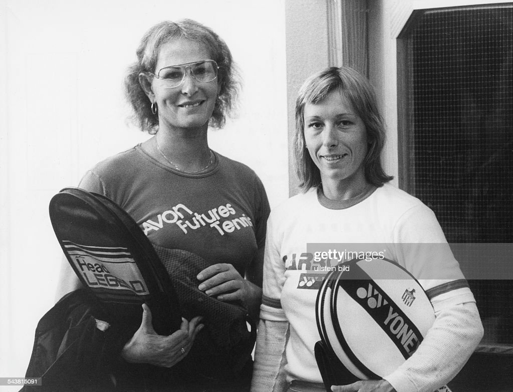 Image result for Renee Richard and Martina Navratilova