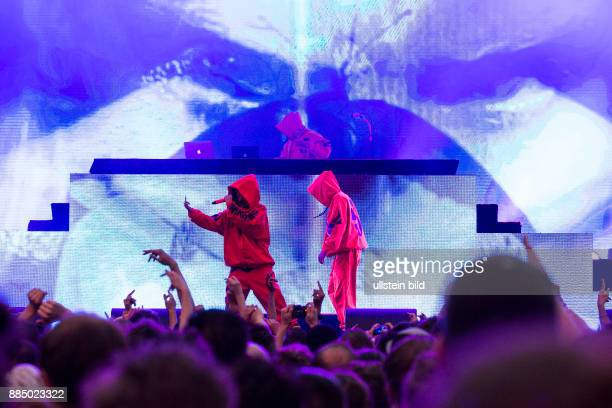 Die Antwoord Rap Rave South Africa performing on June 04 at Zitadelle Spandau Berlin Germany sold out