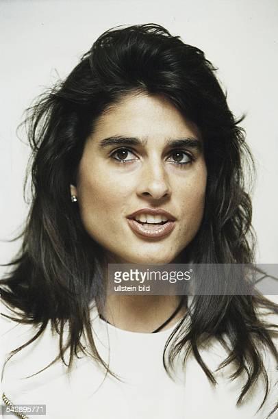 Die argentinische Unternehmerin Gabriela Sabatini ehemals aktive Tennisspielerin Aufgenommen um 1997