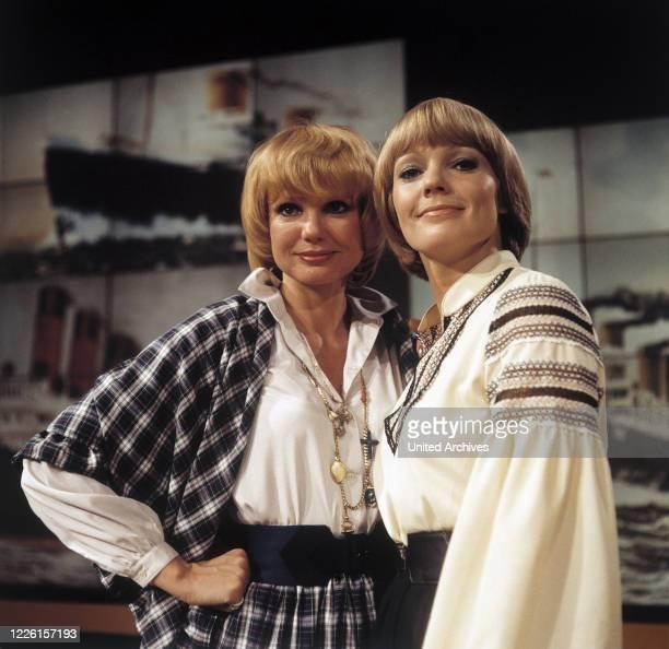 MARIANNE PRILL und BEATE HOPF 1974