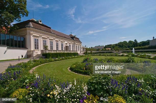 Die barocke Parkanlage von Schloss Belvedere Landstraße Wien 3 2009 Photographie von Urs Schweitzer