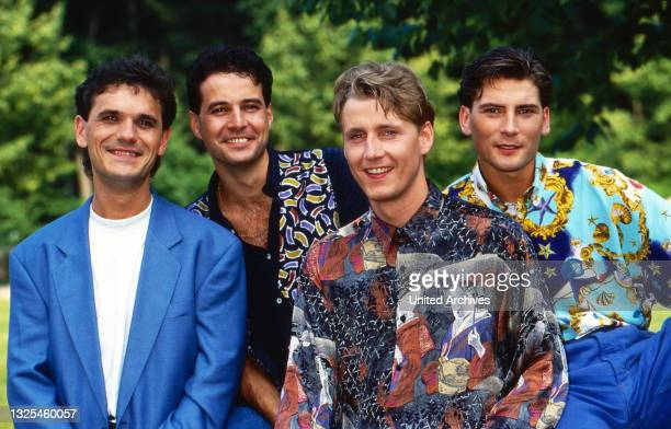 Die Blauen Engel, österreichische Musik- und Kabarettformation, Deutschland um 1993.