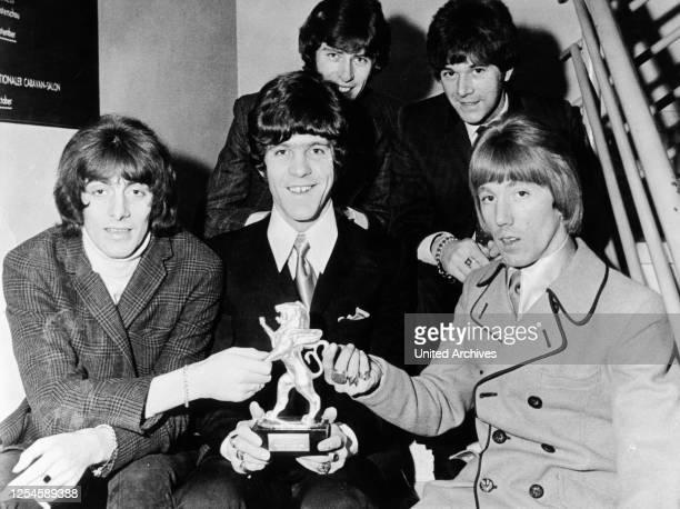 Die britische Rockgruppe Dave Dee, Dozy, Beaky, Mick & Tich, Ende der 1960er Jahre.