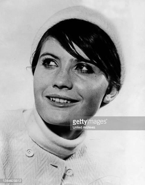 Die britische Sängerin Sandie Shaw, Großbritannien 1960er Jahre.
