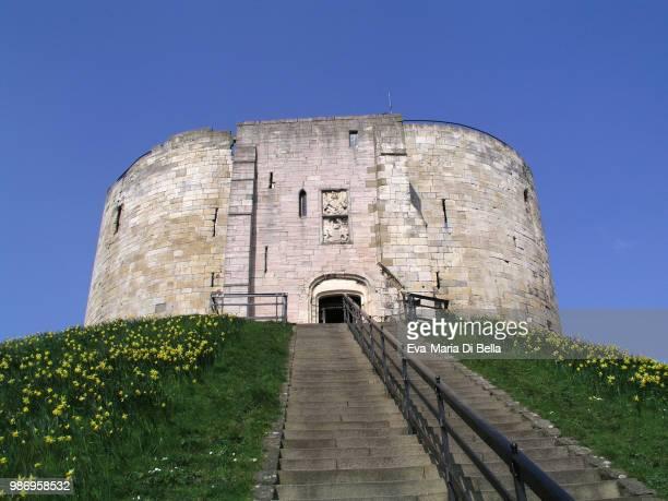Die Burg - ein Wahrzeichen von York, UK