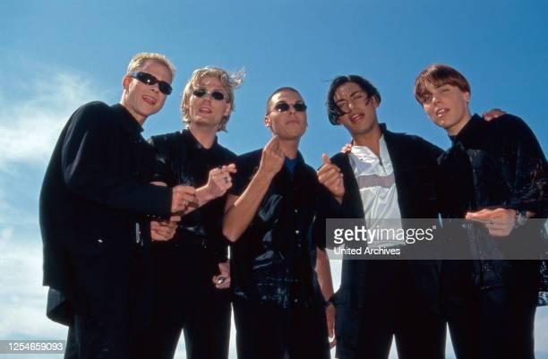 Die deutsche Boygroup Touche, Deutschland 1990er Jahre.