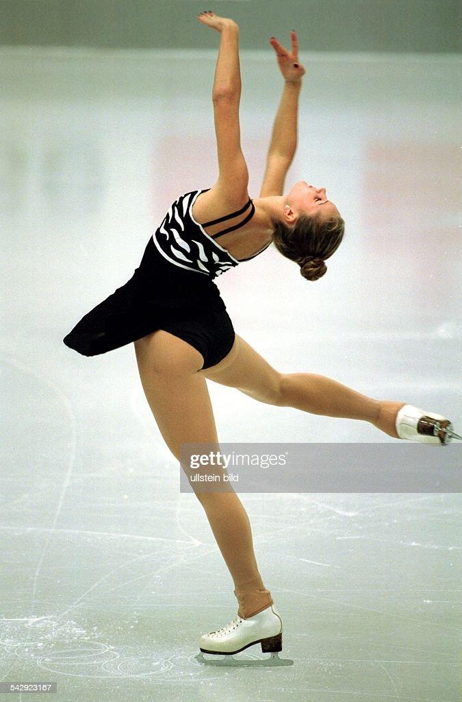 Deutsche Eiskunstläuferin