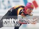 Die deutsche Eisschnellläuferin Gunda Niemann aus Erfurt läuft am bei der MehrkampfWeltmeisterschaft im japanischen Nagano auf der 5000mDistanz Mit...