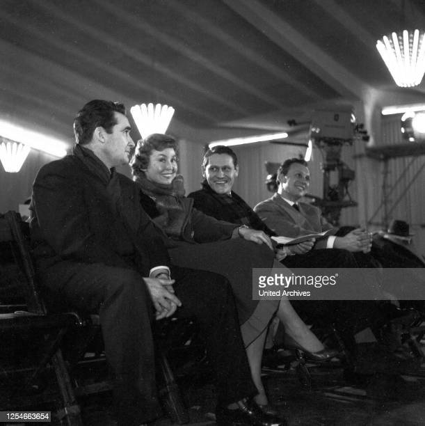 Die deutsche Opernsängerin Anneliese Rothenberger, Deutschland 1950er Jahre.