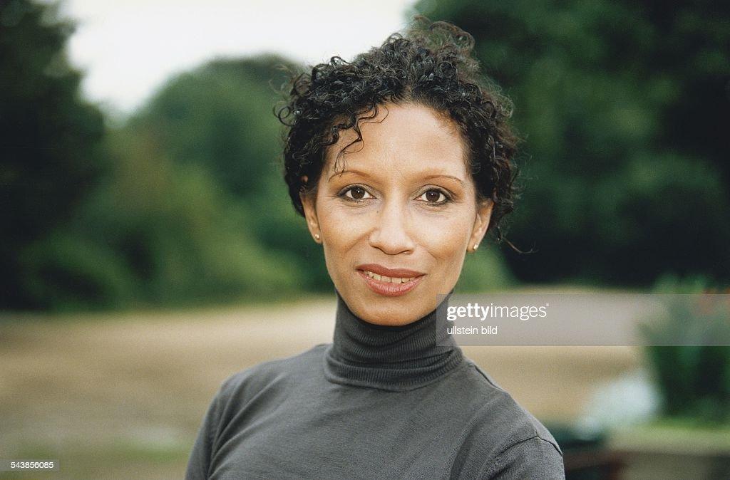 Die deutsche Schauspielerin Karin Boyd. Aufgenommen