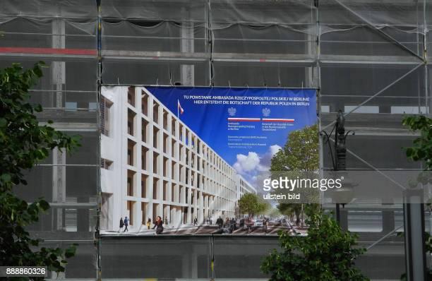Die ehemalige Polnische Botschaft Unter den Linden nach 16 Jahren Leerstand war fuer August 2015 der Abriss geplant Im Januar 2016 sollten die...