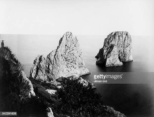 Die 'Faraglioni'Felsen1892