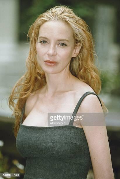 Die Film und Fernsehschauspielerin Anna Thomson Aufgenommen August 1998