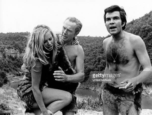"""Die Folge """"Das Tal der Ruhe"""" aus der ZDF Abenteuerserie """"Percy Stuart"""", Deutschland 1970, Regie: Hans Georg Thiemt, Darsteller: Colette Jack, Horst..."""