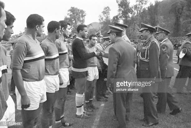Die FußballAuswahl der Bundeswehr traf am im Koblenzer Stadion vor 17 000 Zuschauern auf die Mannschaft der Vereinigten Arabischen Republik und...