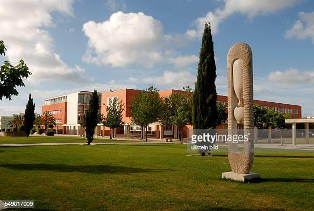 Die Gebäude auf dem Universitätscampus in Aveiro