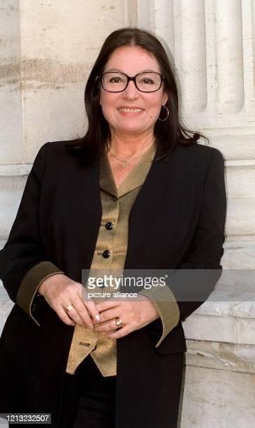 Die griechische Sängerin am 10. Februar 1998 in Frankfurt am Main.