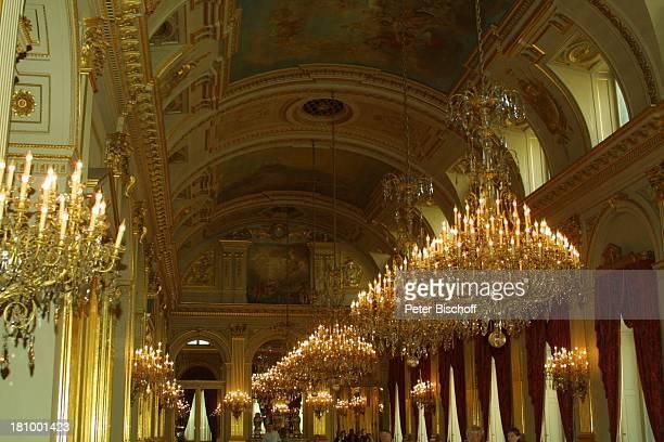 Die Große Galerie, Belgischer Königspalast, Brüssel/Belgien, Europa, , Königshaus, Palast, Kronleuchter, Reise,
