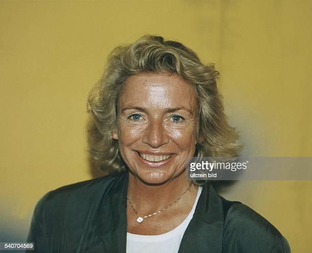 Die Hamburger Verlegerin und Redakteurin Angelika Jahr Aufgenommen September 1997