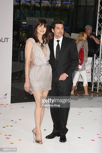 """Die Hauptdarsteller Patrick Dempsey Und Michelle Monaghan Bei Der Premiere Von """"Verliebt In Die Braut"""" Im Cinestar Am Potsdamer Platz In Berlin Am..."""