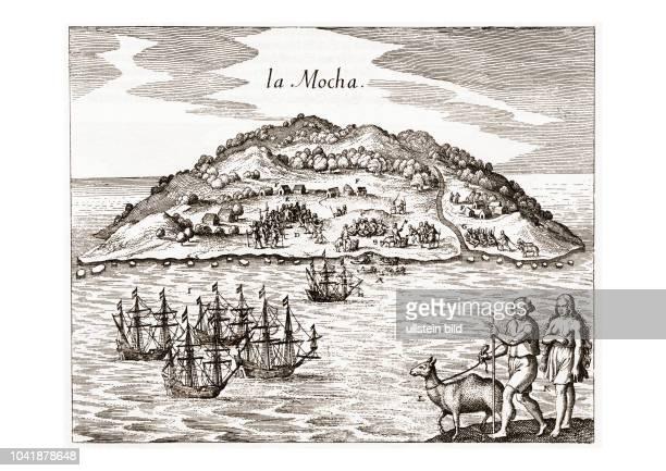 Die Insel Mocha liegt 32 km von der Küste Chiles entfernt gegenüber dem Küstenort Tirœa Auf der Insel lebte lange vor der Entdeckung durch die...