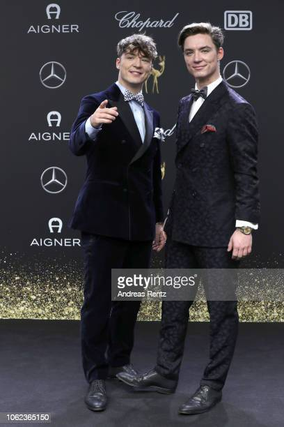 Die Lochis attend the 70th Bambi Awards at Stage Theater on November 16 2018 in Berlin Germany