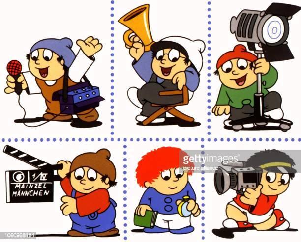 Die Mainzelmännchen Conni Det Berti Anton Edi und Fritzchen Die koboldähnlichen kleinen Zeichentrickfiguren wurden 1962 von dem ehemaligen...