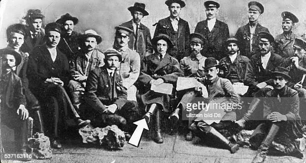 1868 1918 die Mörder der Zarenfamilie in der Mitte Kommissar Jurowski