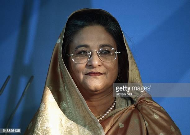 Die Premierministerin von Bangladesch Sheikh Hasina Wajed
