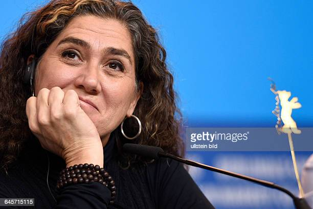 Die Regisseurin und Drehbuchautorin Anna Muylaert während der Pressekonferenz zum Film Que Horas Ela Volta/The second mother anlässlich der 65...