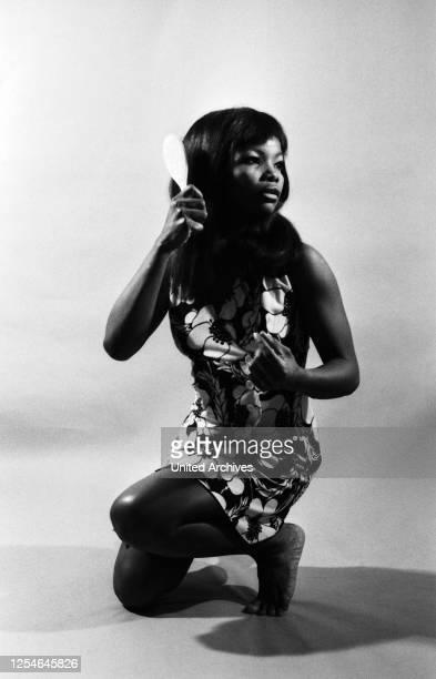 Die Schauspielerin Esther Daniels, Porträt, Deutschland 1969.