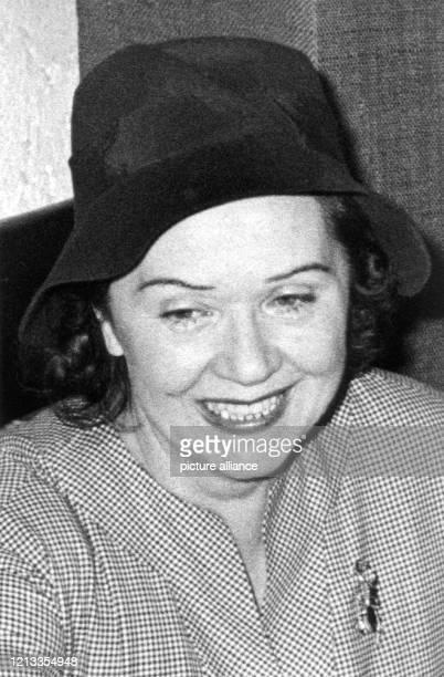 Die Schauspielerin Lucie Englisch in einer zeitgenössischen Aufnahme Das Publikum begeisterte die zierliche Darstellerin durch ihre liebenswert...