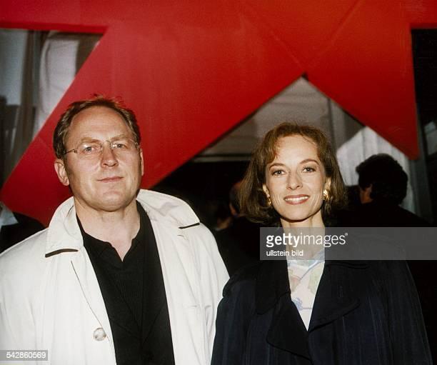 Die Schauspielerin Mareike Carrière und ihr Mann Gerd Klement Aufgenommen März 1999