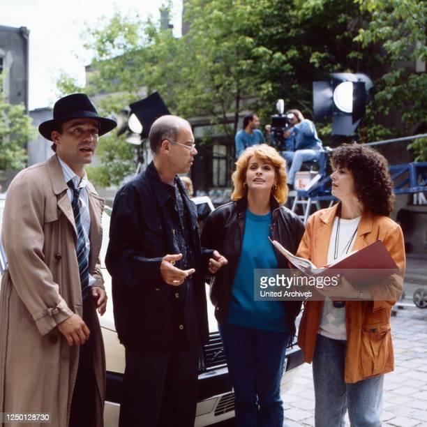 Die schnelle Gerdi, Fernsehserie, Deutschland 1989, Darsteller: Heiner Lauterbach, Bernd Fischerauer, Senta Berger, Eva Astor.