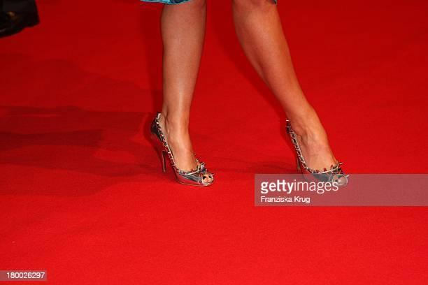 Die Schuhe Von Davorka Tovilo Bei Der Weltpremiere Von 'Der Rote Baron' Im Cinestar Am Potsdamer Platz In Berlin