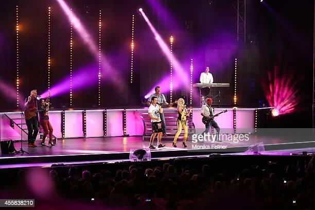 Die Seer perform live on stage at the 'Starnacht aus der Wachau' on September 20 2014 in Rossatz Austria