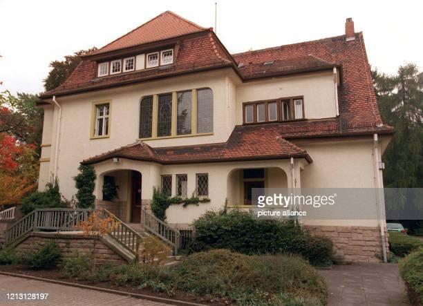 Die so genannte Villa Schüssel in Heppenheim / Bergstraße benannt nach ihrem ersten Besitzer Eduard Schüssel soll das Kaufinteresse von Steffi Graf...