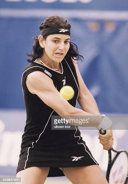 Spanische Tennisspielerin