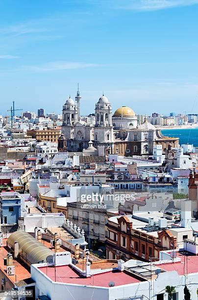 Die Stadt Cadiz in Andalusien, Spanien