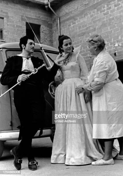 Die tödlichen Träume, aka: Liebestraum, Deutschland 1951, Regie: Paul Martin, Darsteller: Will Quadflieg, Cornell Borchers.