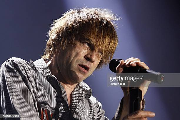 Die Toten Hosen Band Punkrock Germany Singer Campino performing in Berlin Germany O2 World