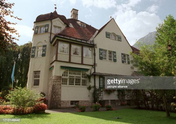 Die Villa von Richard Strauss in Garmisch und heute Sitz des Richard-Strauss-Archivs, aufgenommen am 8.9.1999, dem 50. Todestag des Komponisten. 1864...