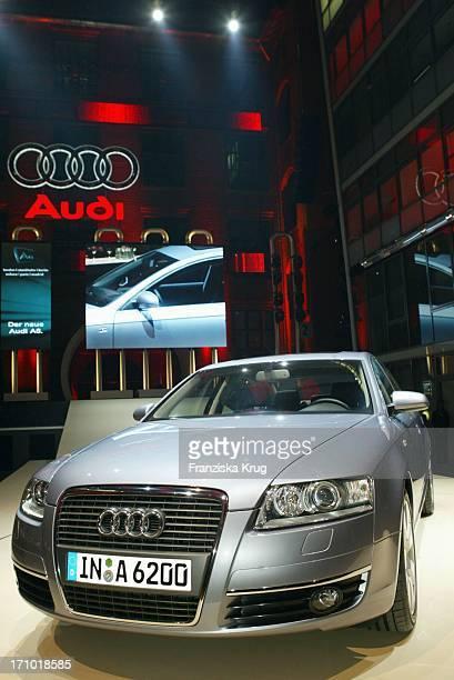Die Weltpremiere Des Neuen Audi A6 Im Energieforum In Berlin
