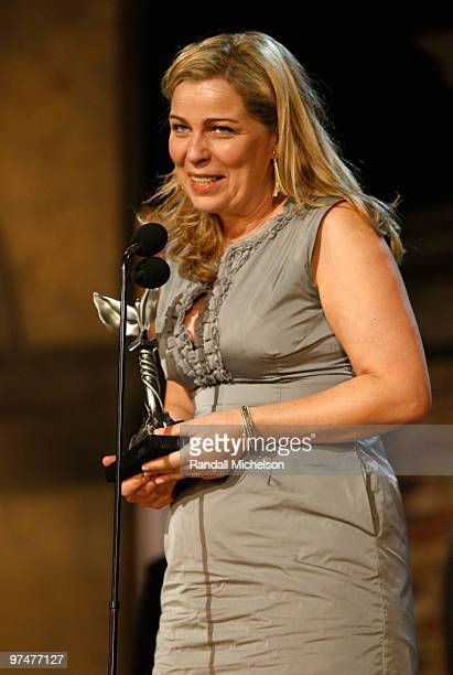 Diector Lone Scherfig onstage at the 25th Film Independent Spirit Awards held at Nokia Theatre LA Live on March 5 2010 in Los Angeles California