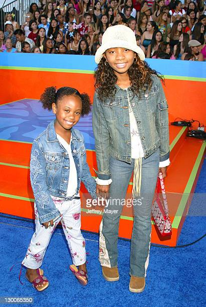 Diede Aree Davis during 2003 Teen Choice Awards Arrivals at Universal Amphitheatre in Universal City California United States