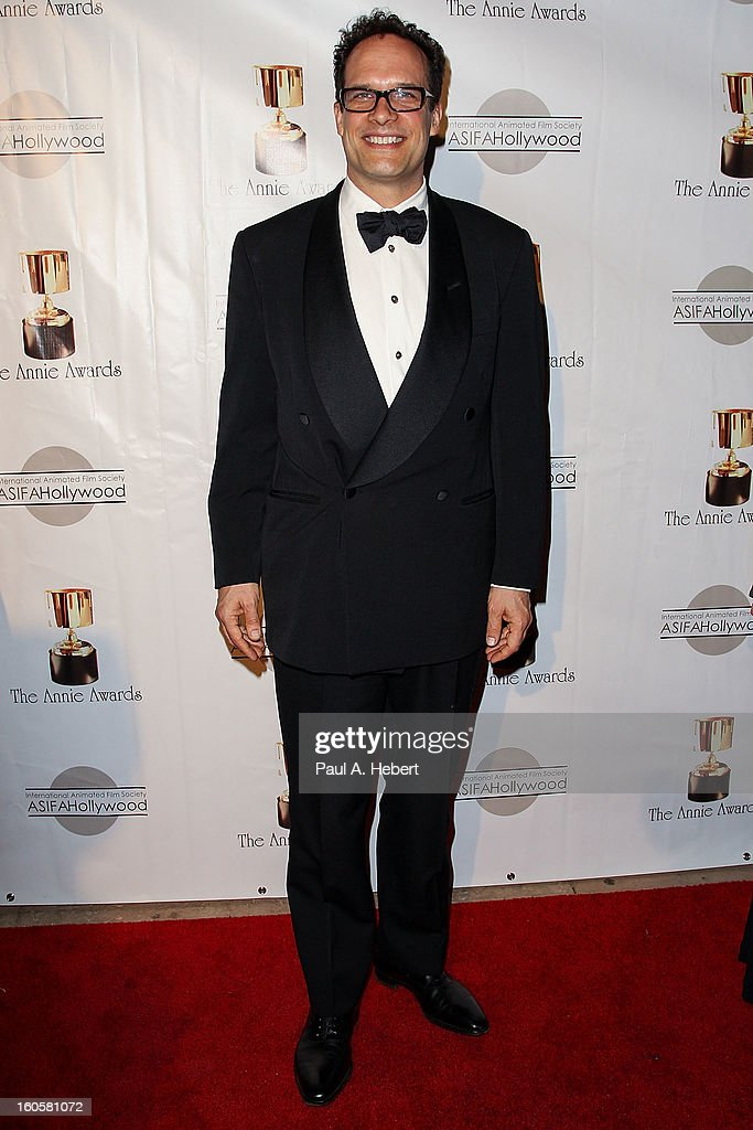 Diedrich Bader arrives at the 40th Annual Annie Awards held at Royce Hall on the UCLA Campus on February 2, 2013 in Westwood, California.