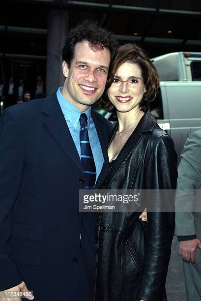 Diedrich Bader of ABC's The Drew Carey Show and Bess Armstrong of That Was Then