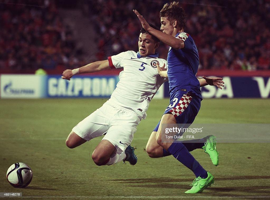 Chile v Croatia: Group A - FIFA U-17 World Cup Chile 2015